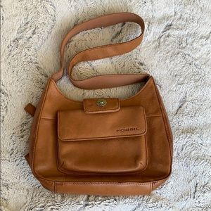 Fossil Shoulderbag with Built in Wallet